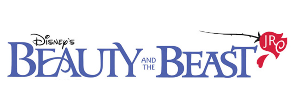 Beauty and the Beast Jr. Logo